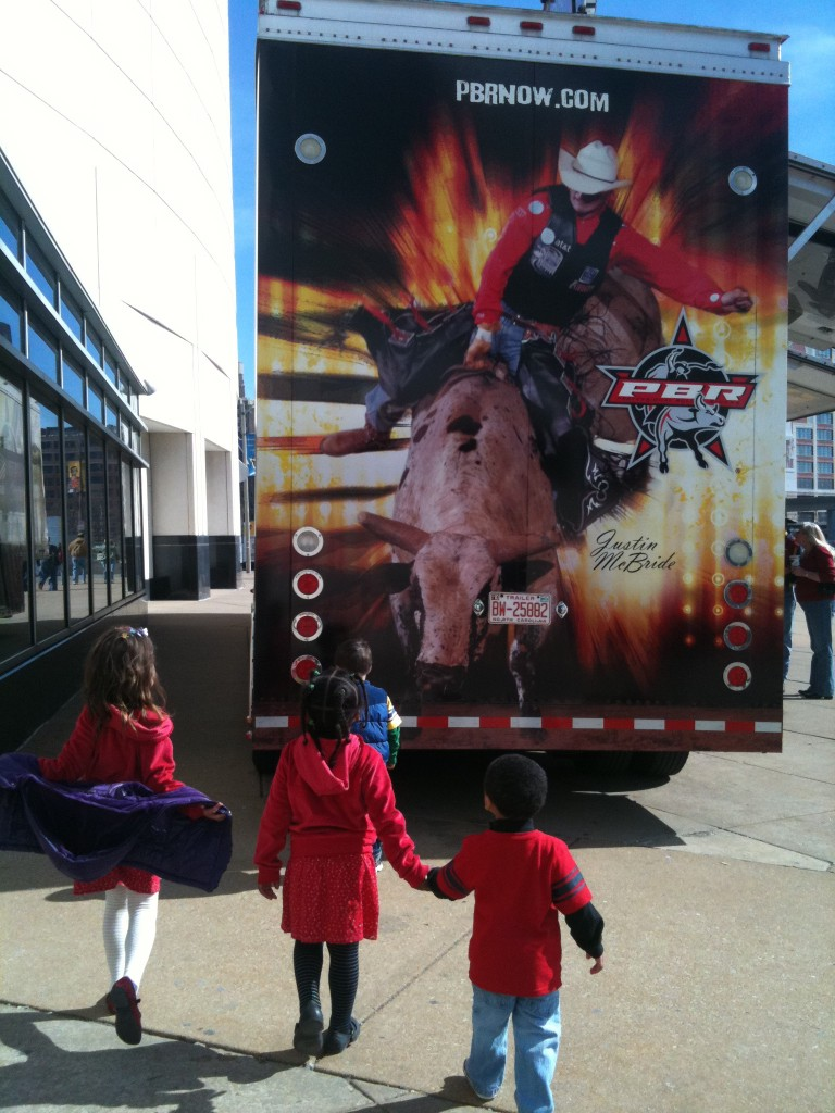 Outside the PBR Enterprise Rent-a-car Invitational